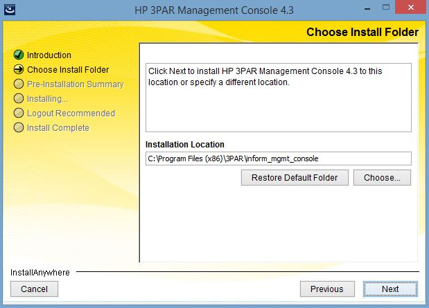 Remote Infrastructure Management: HP 3PAR Storeserv Tutorial