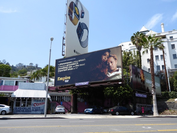 Empire 2016 Emmy consideration billboard