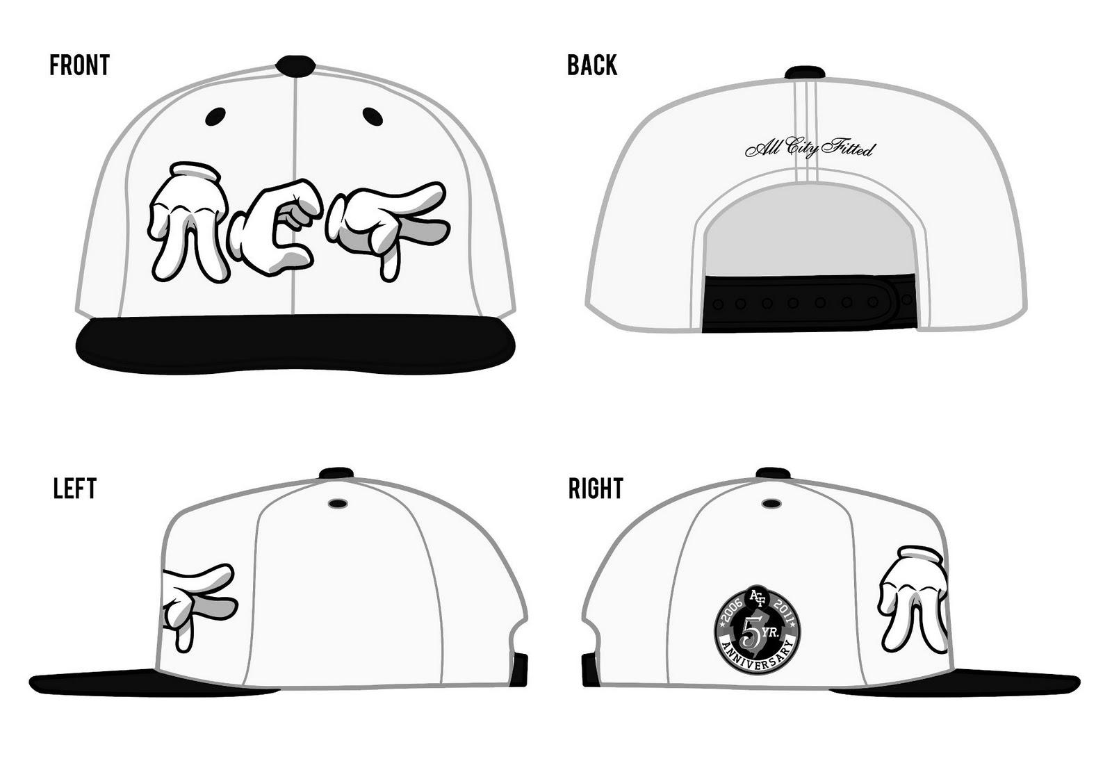 Blank U Hat