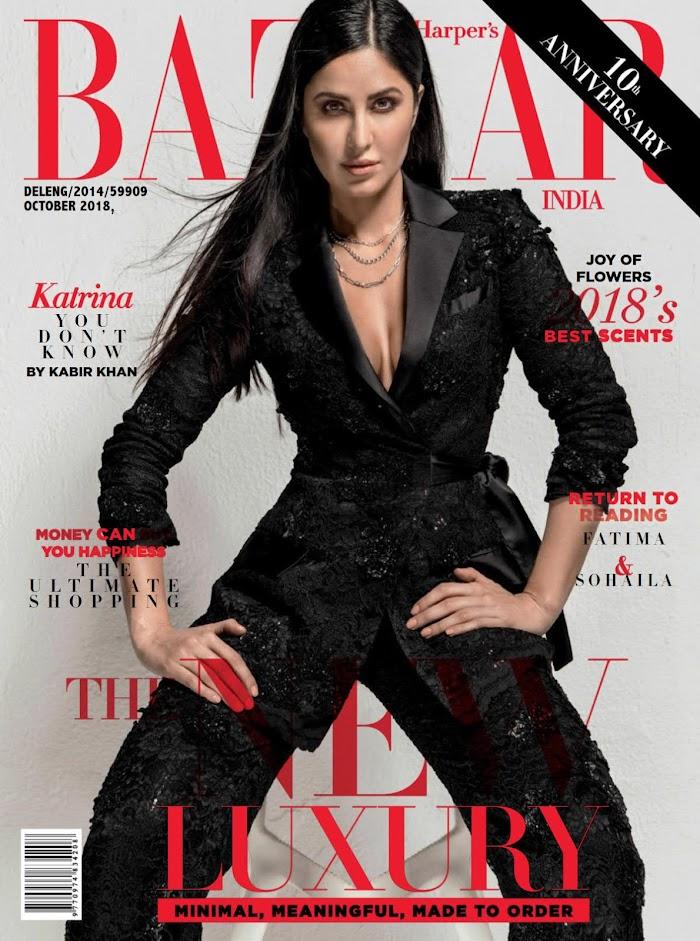 Katrina Kaif featuring Harper Bazzar Magazine October 2018-PDF