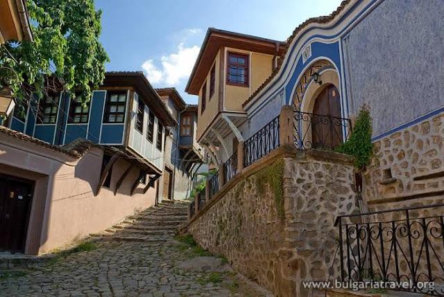 El casco antiguo de Plovdiv, Bulgaria, turismo, Europa del Este