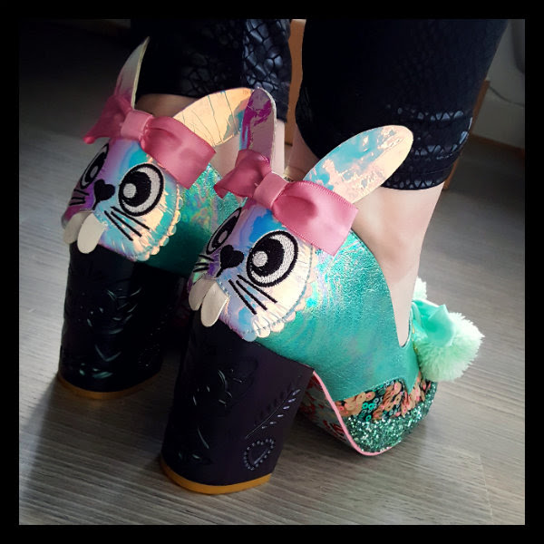 wearing irregular choice snuggle bunnie
