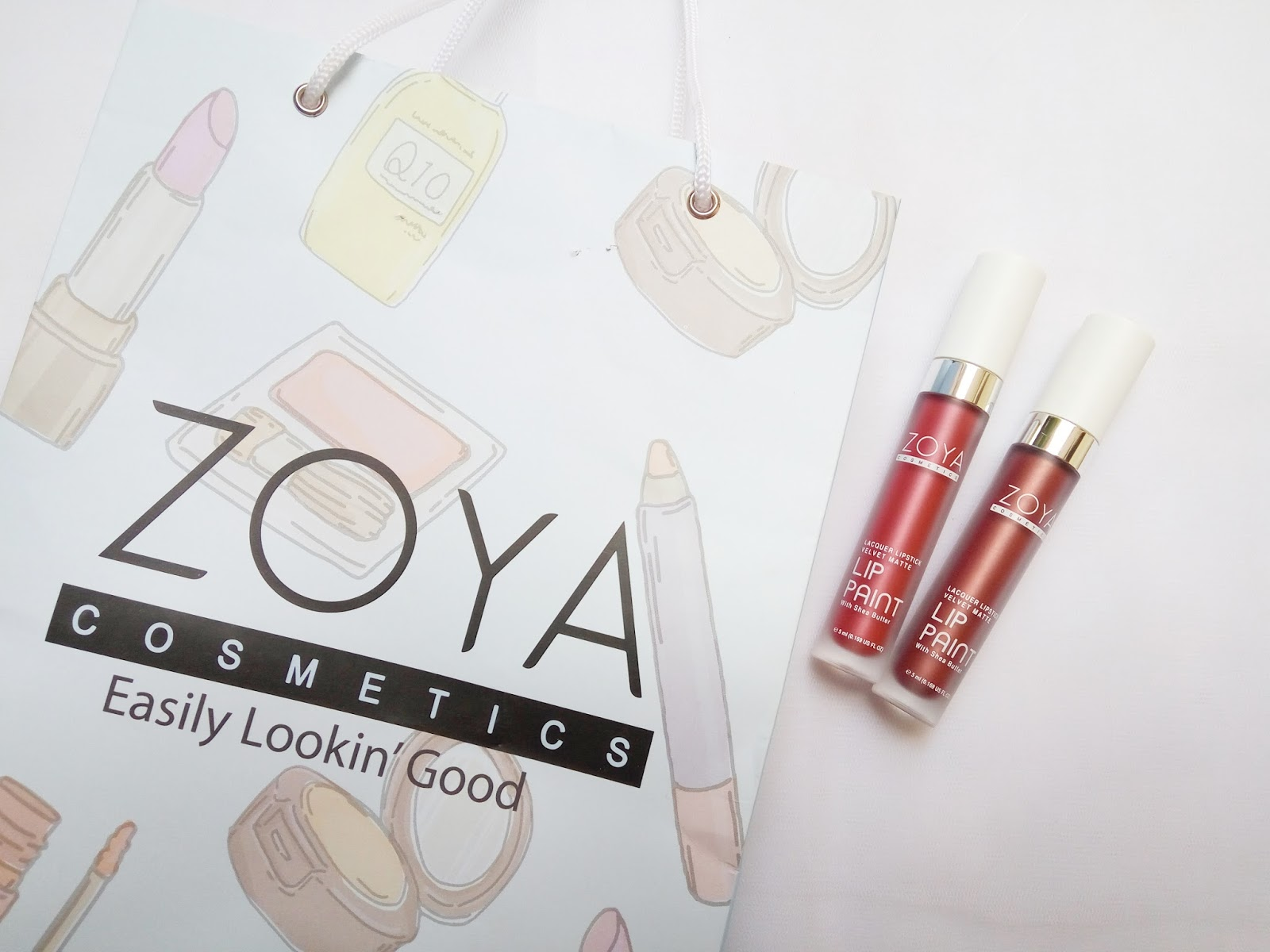 New Shades Of Zoya Lip Paint Metallic Series Limited Review