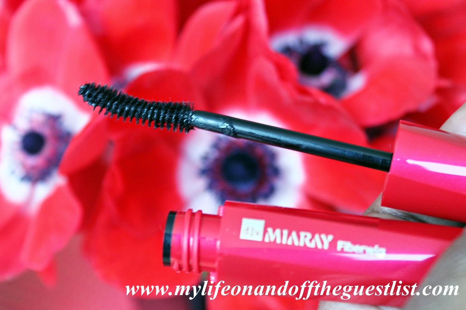 Go Beyond Mascara with d.j.v Miaray Fiberwig