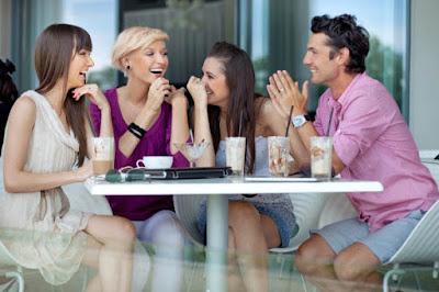 men love pda in front of friends
