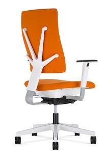 Scaun operational 4ME - orange