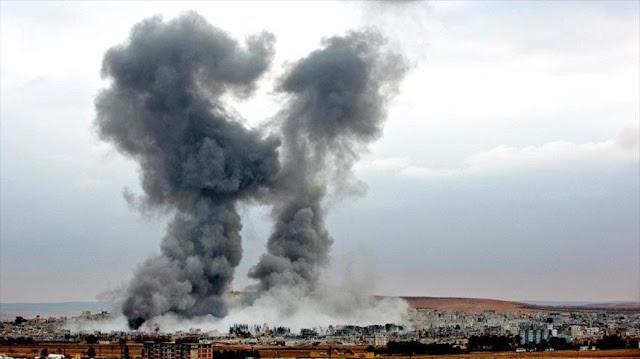 Damasco denuncia a EEUU por sus ataques contra civiles sirios