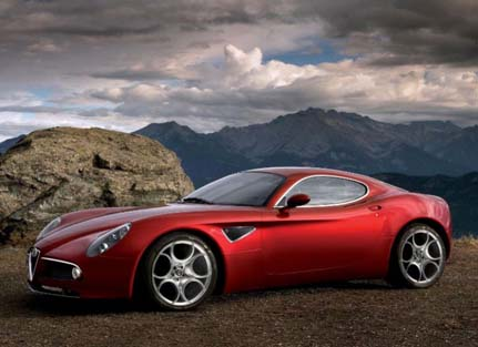 Alfa Romeo 8C Competizione Model 2008 ,أجمل السيارت, أجمل تصاميم السيارات, أفخم السيارات, أفضل تصاميم السيارات, تصاميم سيارات