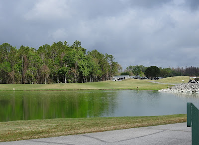 One of the golf course ponds at Cypress Lakes Report, Lakeland Florida.