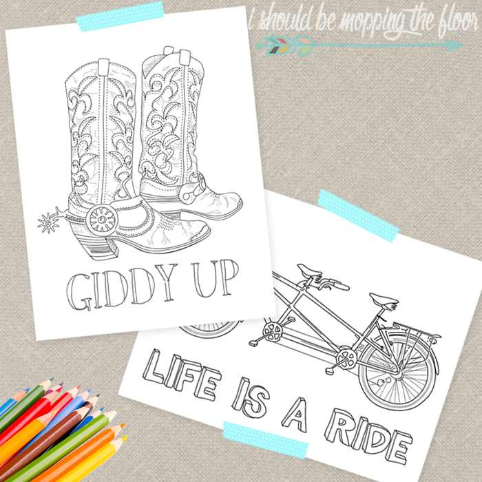 - How To Create Your Own Coloring Pages I Should Be Mopping The Floor