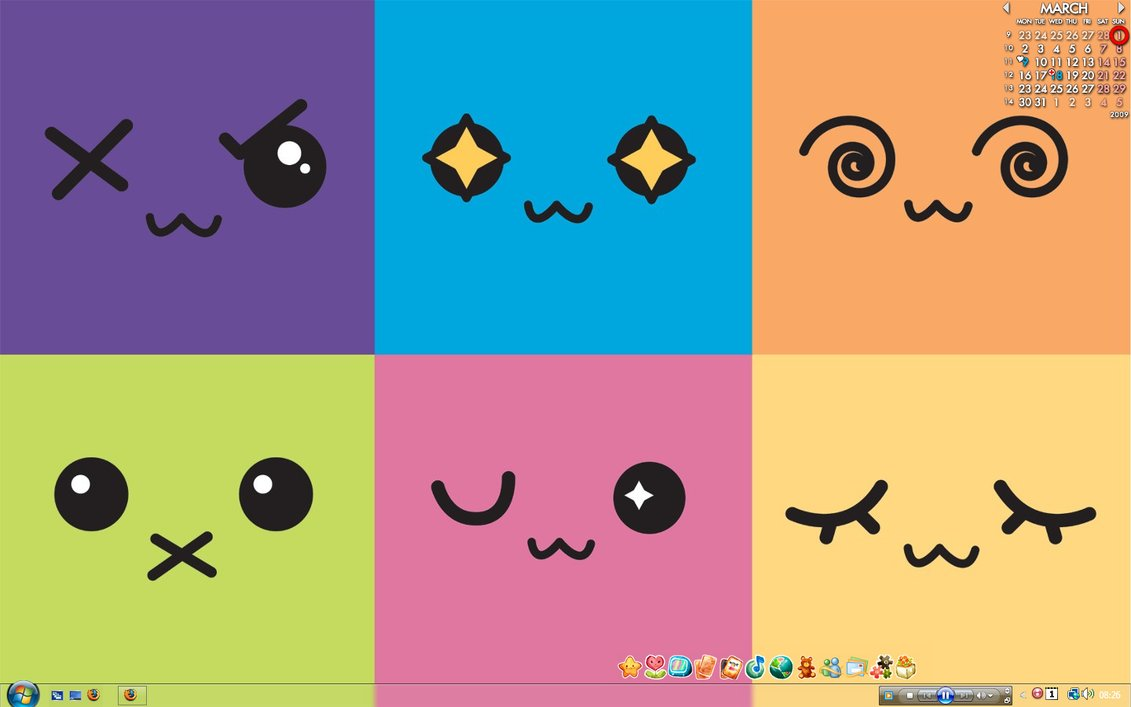 Foto Random Cute Kawaii Background