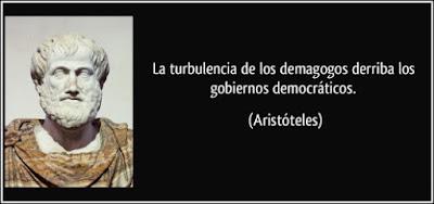 Frase de Aristóteles.