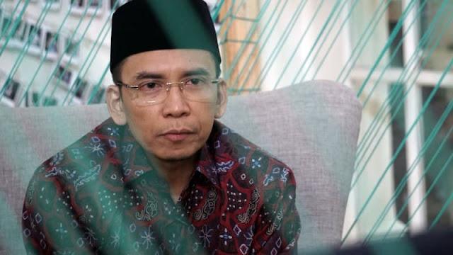 Kata TGB soal Lafal Al-Fatihah Jokowi