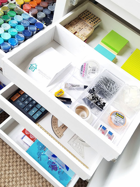 Office and craft supplies organization