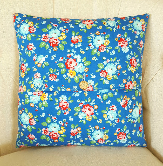 Arbor Blossom Hourglass Pillow by Heidi Staples for Fabric Mutt
