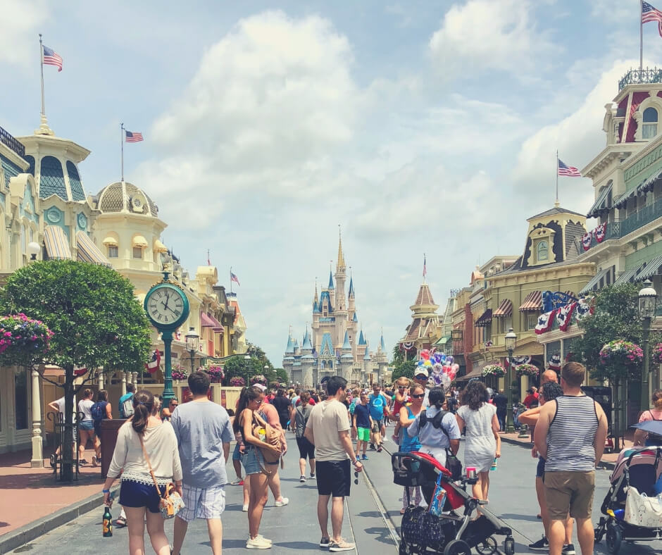 17 Must Dos For Your First Visit To Walt Disney World | Head down Main Street U.S.A and go to Tomorrowland!