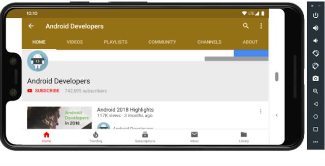 Download Android Studio 3.4: Android Q Emulator, Resource Manager, dan lainnya 3