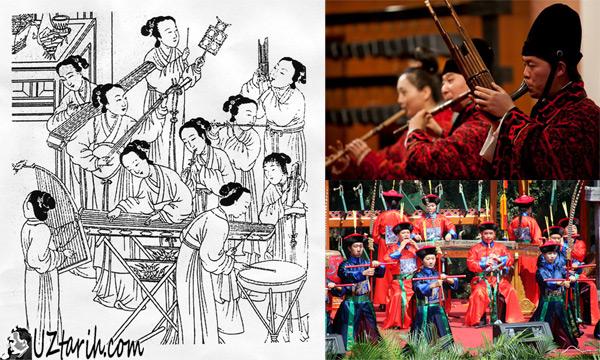 çin müzik aletleri, chinese instruments
