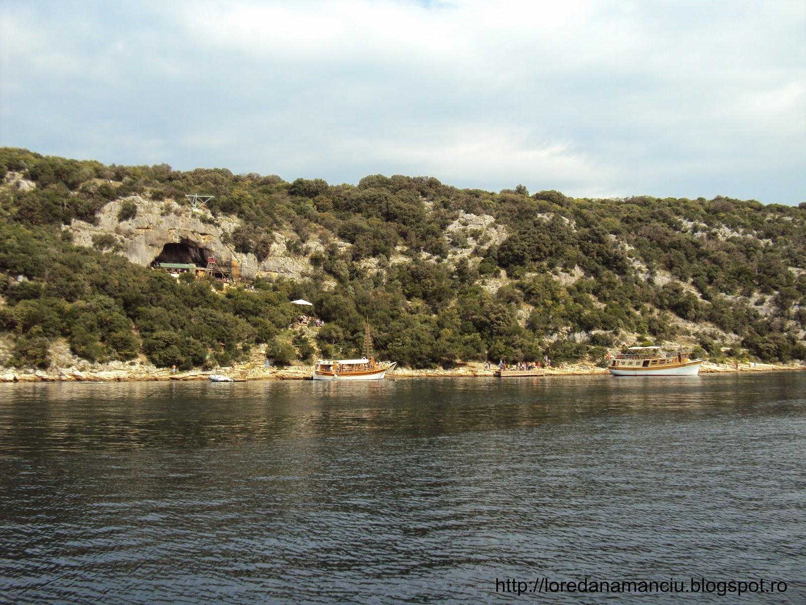In Croatia cu vaporasul Melissa spre Ronvinji