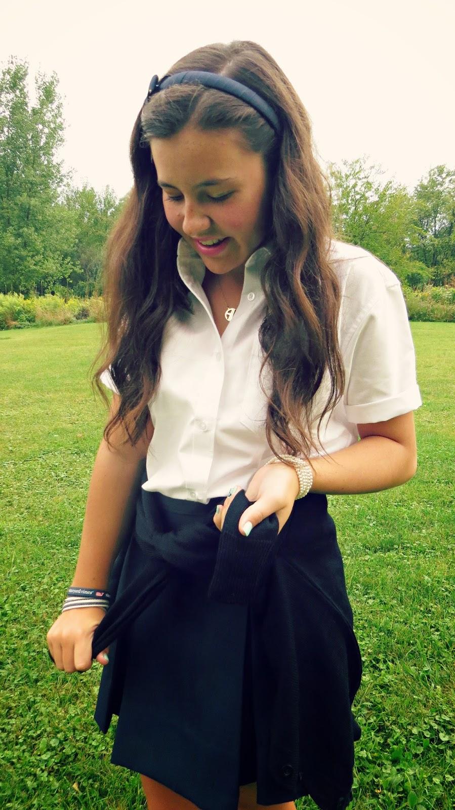 Belleoftheball45: Styling my School Uniform & A Look at My ...