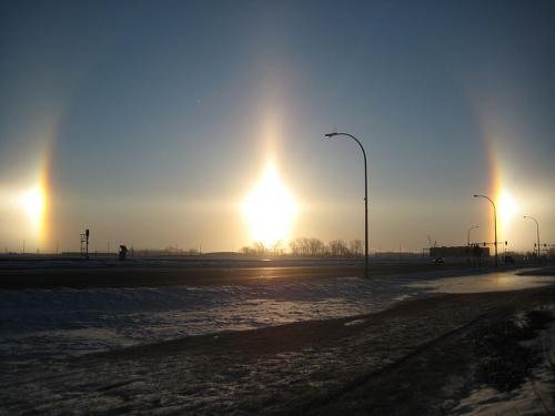 The most rare and beautiful natural phenomena 6. The false sun