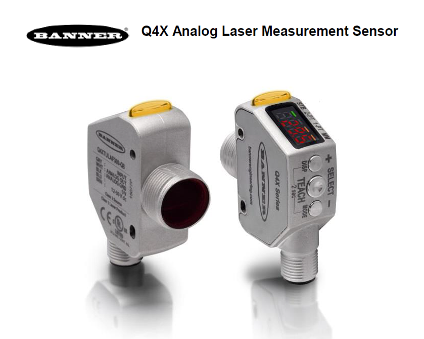 New Tech Q4x Analog Laser Measurement Sensor