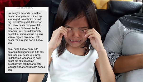 'Tak Nak Balik, Daddy Mummy Pukul..' – Amanda