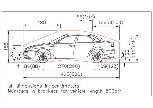 Length Of Car Parking Space Australia