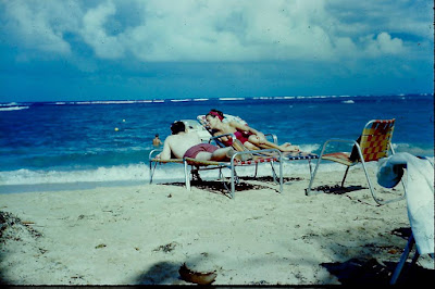Sunning in Jamaica