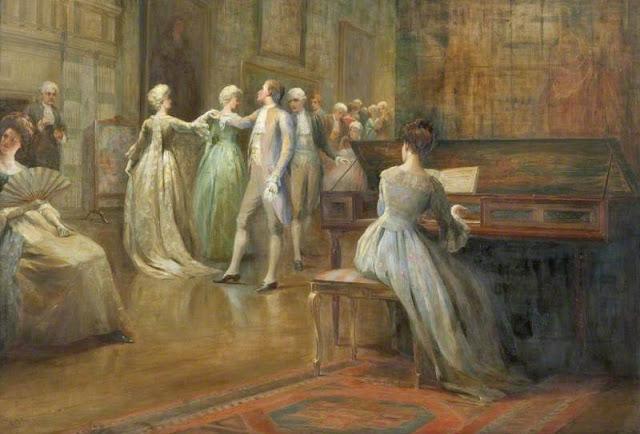 Duncan Mackellar - The Minuet - c. 1908