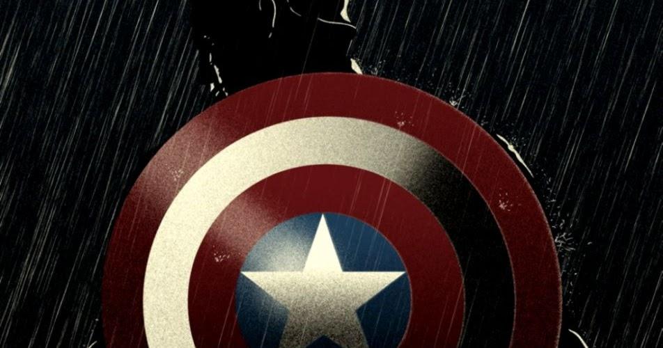 Captain America Logo Wallpaper For Iphone
