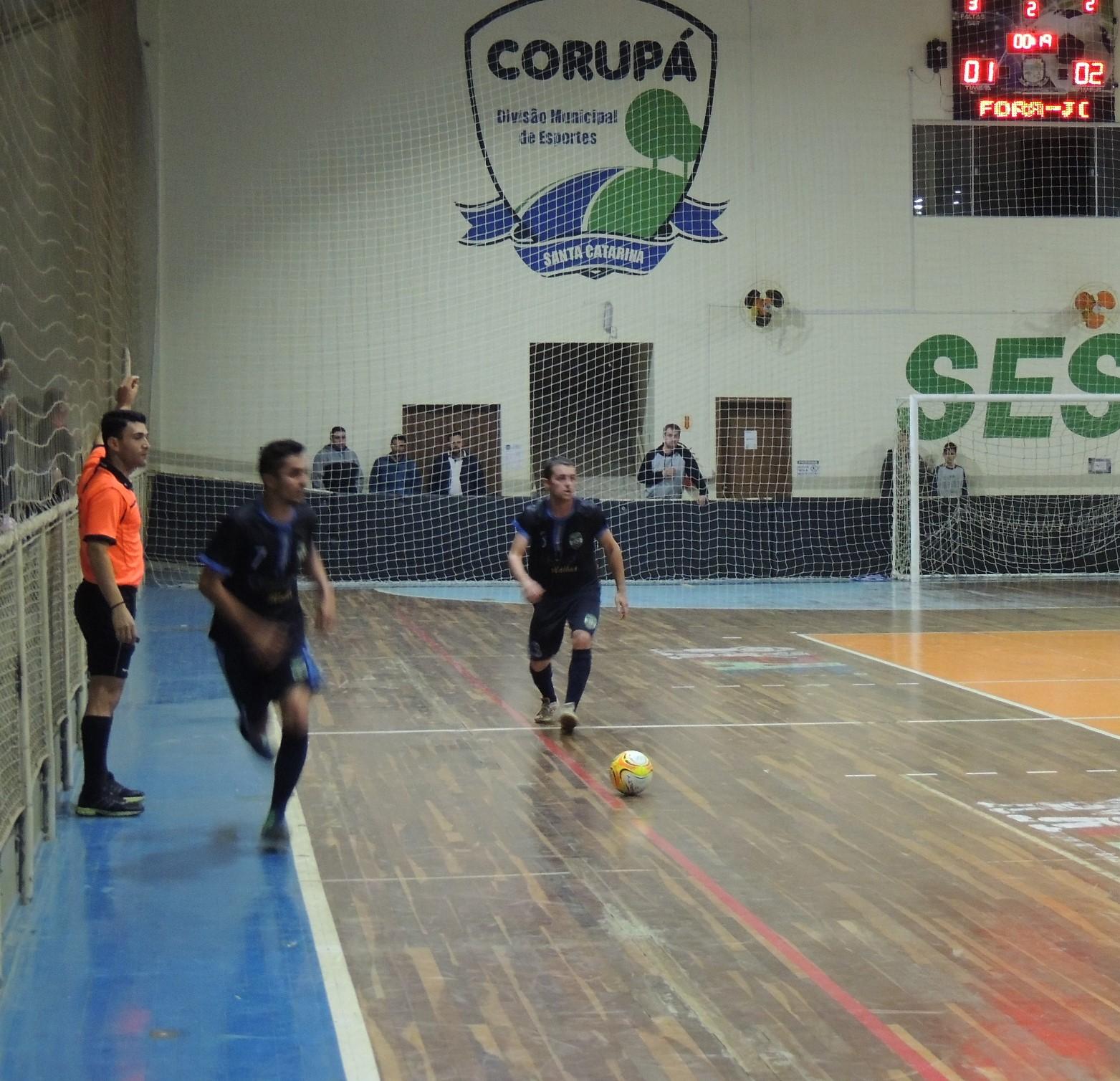 1ec5a2d6b7 Definidos os finalistas do Aberto de Futsal de Corupá