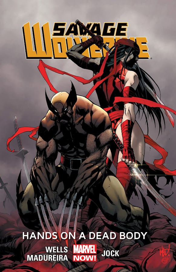 savage wolverine hands on a dead body