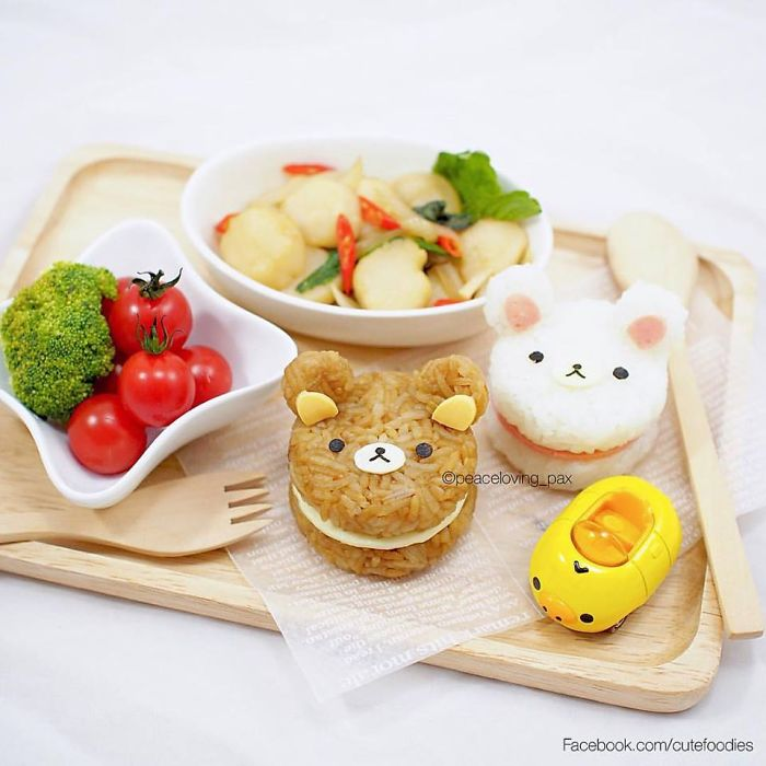 27-Two-Cute-Bears-Nawaporn-Pax-Piewpun-aka-Peaceloving-Pax-Food-Art-Inspiration-for-your-Bento-Box