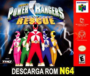 Power Rangers - Lightspeed Rescue 64 n64