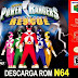 Roms de Nintendo 64 Power Rangers - Lightspeed Rescue  (Ingles) INGLES descarga directa