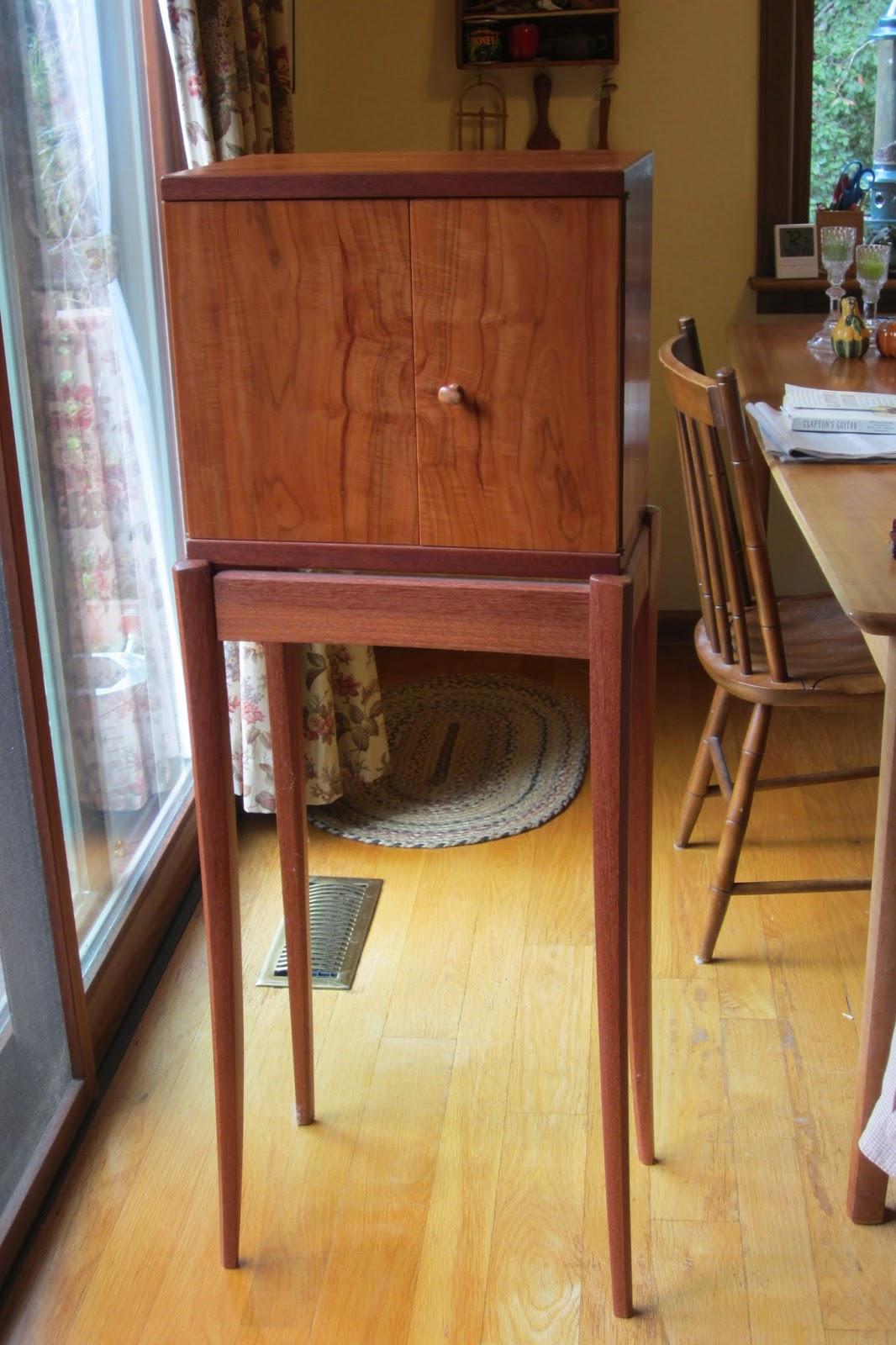 David Barron Furniture Krenov Cabinet