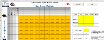 squares excel spreadsheet