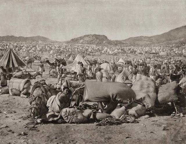 Image result for padang arafah zaman dahulu kala