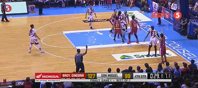 Ginebra def. San Miguel, 127-99 (REPLAY VIDEO) Finals Game 1 / July 27