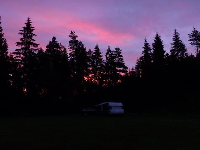 Urlaub Camping Campingtrip mit Hund Sandhem