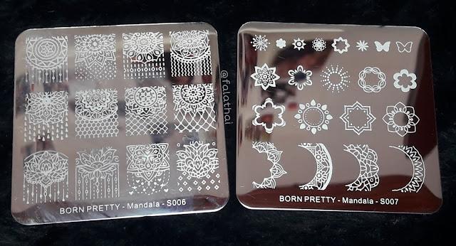 placas Mandala S007 e Mandala S006