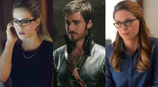 arrow, ouat, supergirl