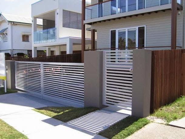 Model Pagar Besi Dengan Pelbagai Design Dan Warna Design Rumah Terkini