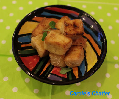 Carole's Chatter: Salt & Pepper Tofu - reprised