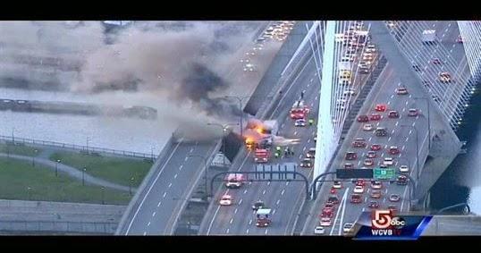 Always Civil: Boston Cable Stay Bridge Fire
