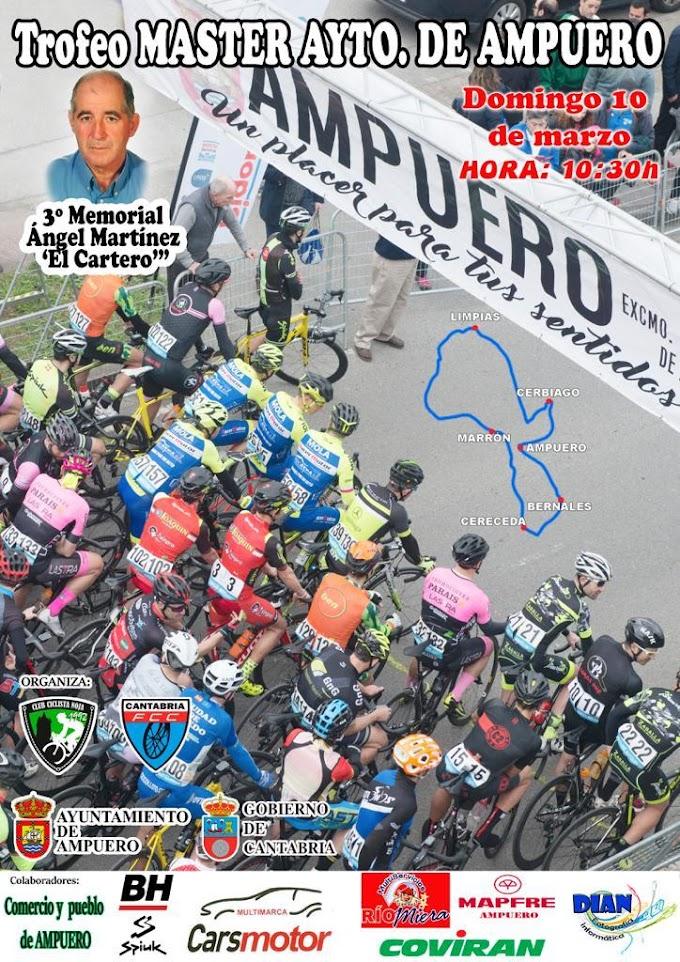 Trofeo Máster Ayuntamiento de Ampuero 10 de marzo de 2019