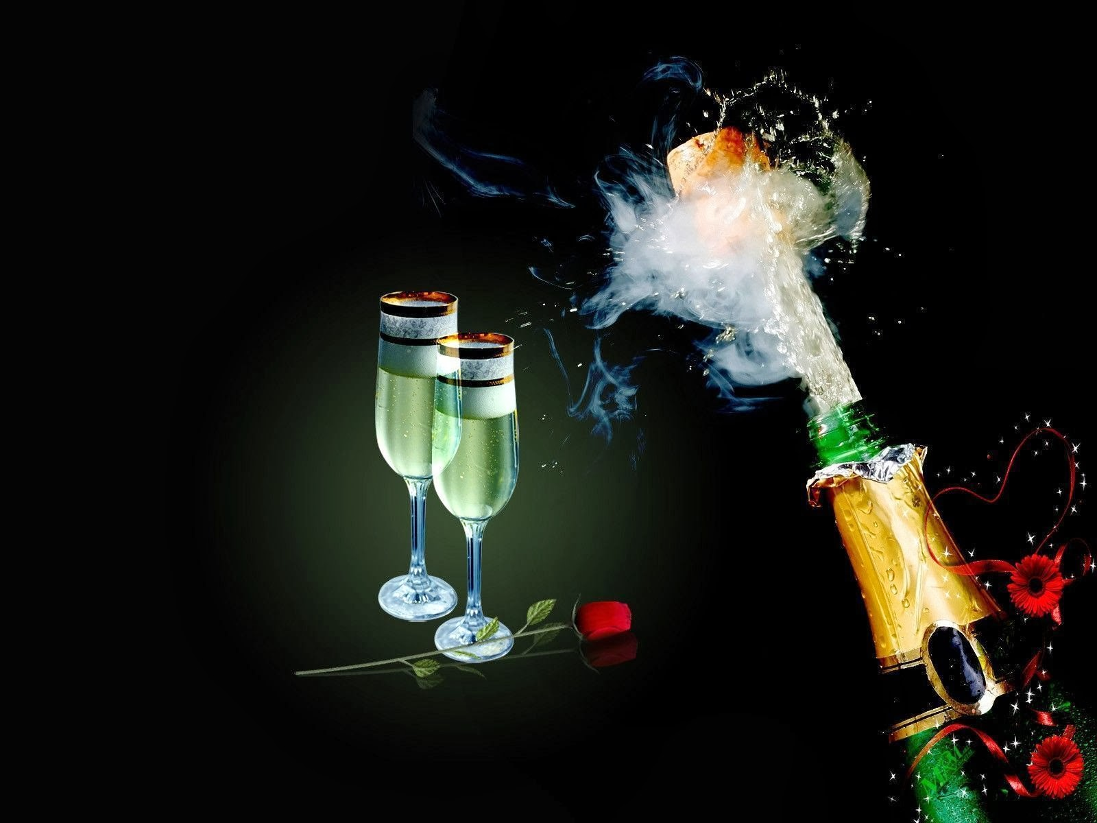 Sparkling Champagne HD Wallpapers - HD Wallpapers Blog