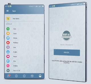 BBM Mod Telegram Style theme versi 3.3.2.32 Apk