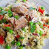 Kus-kus salata sa tunjevinom